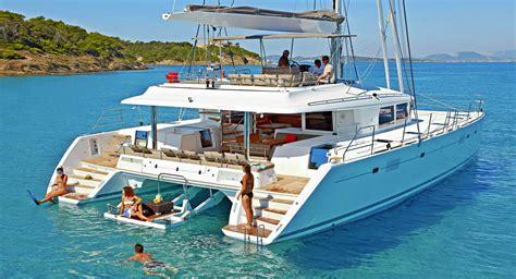 cheap bluewater boats moya crewed catamaran charter in greece aegean