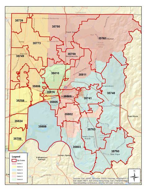 zip code map huntsville al map of madison county madison county al