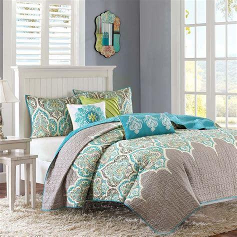 aqua and brown bedding brown and aqua bedding