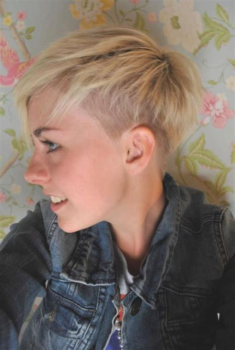 pixie cuts with buzzed back pixie undercut found it on google hairstyles