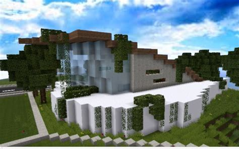 cool modern houses modern house in minecraft cool house quot zephyr quot