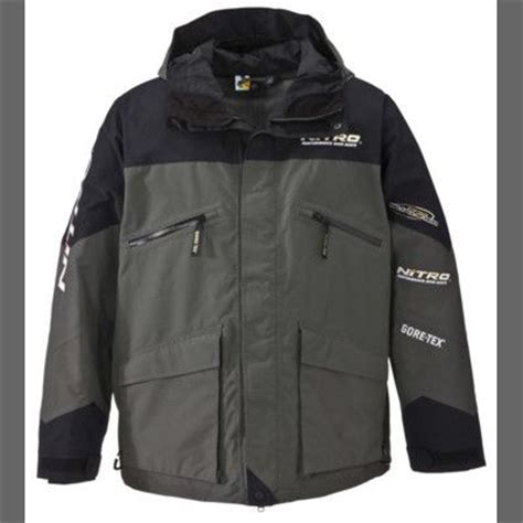 nitro boats clothing nitro bass pro shops pro qualifier rain parka nitro