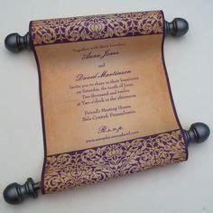 scroll wedding invitations in new york make your own scroll wedding invitations diy arabian nights baby