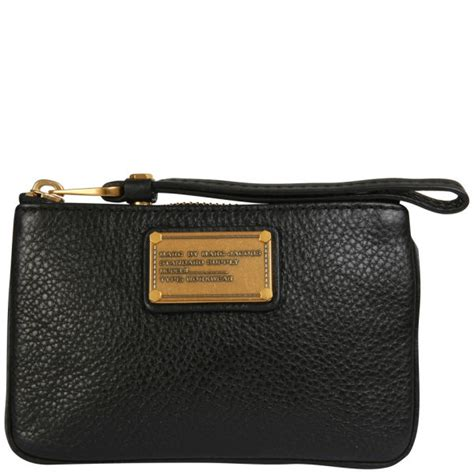 Marc By Marc Lovely Luz Purse by Marc By Marc Small Wristlet Purse Black One