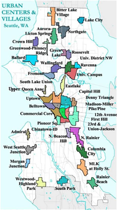 seattle development map local news seattle times newspaper