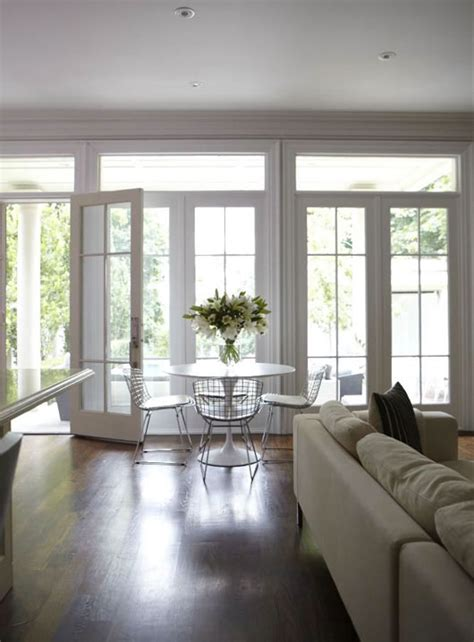 dining room doors wallof french doors and transom windows contemporary dining room hgtv