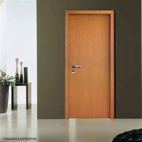 porta porta porta de madeira semi s 243 lida completa batente