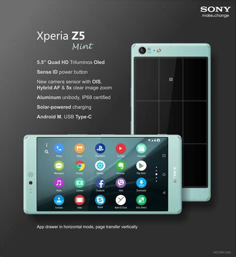 Hp Sony Ericsson Z5 sony xperia z5 concept phones