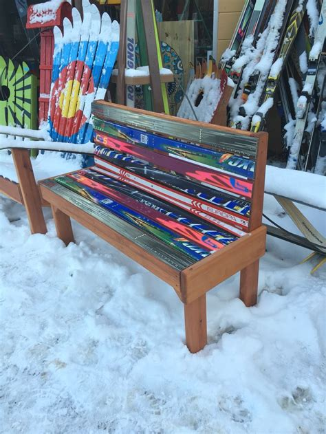 ski bench 25 best ideas about ski decor on pinterest vintage ski