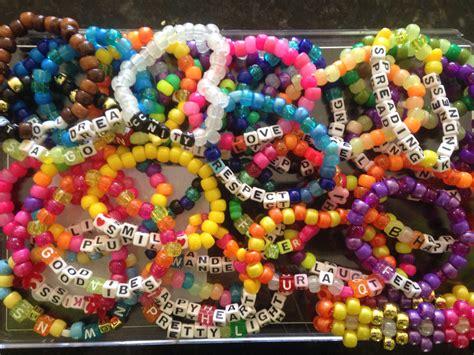 20 kandi festival bracelets custom by