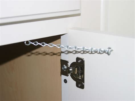 Cabinet Door Restraint by Door Restraint Door Restraint Chains Pezcame