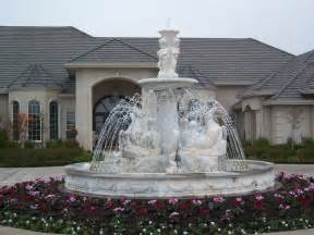 marble fountains centerpieces pool surrounds