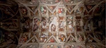 sixtinische decke sixtinische kapelle in neuem licht elektro net