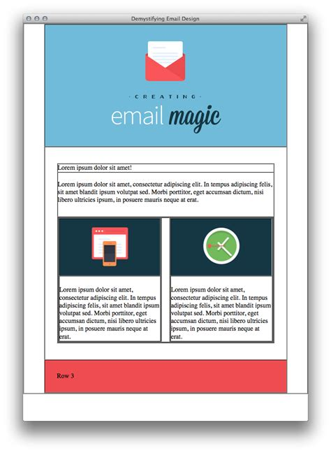 Build An Html Email Template From Scratch Net Email Template