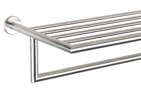 Chrome Towel Racks 20 steel towel rack shiney polished in chrome pz40p