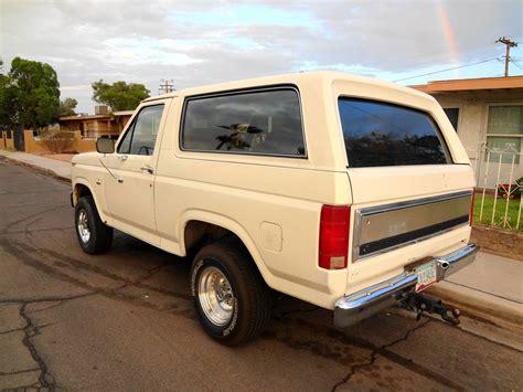 1985 ford bronco interior 1985 ford bronco pictures cargurus