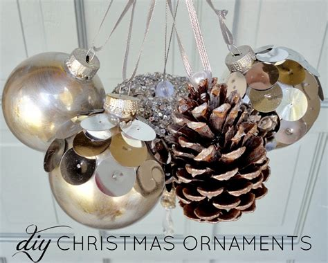 Ideas For Handmade Ornaments - livelovediy diy ornaments ideas