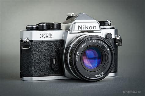 Kamera Vintage Nikon kamera nikon fe2 objektiv nikkor 50 mm f 1 8 nikon classic cameras kamera
