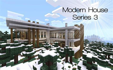 Modern House Series 3 Minecraft Project | modern house series 3 minecraft project