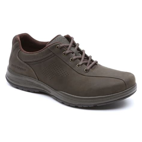 rockport barecove park bike toe mens walking shoes