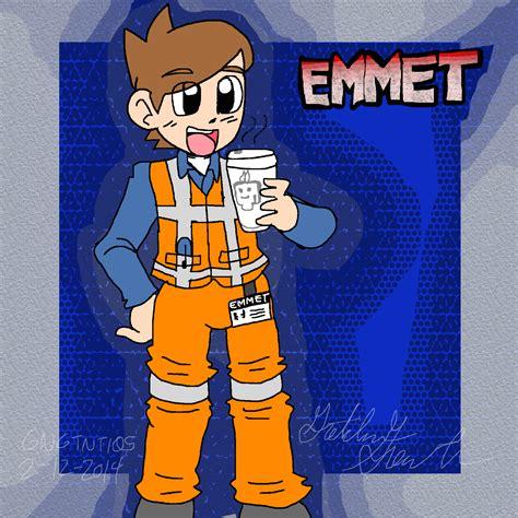 lego movie emmet fan art emmet by gngtnt105 on deviantart