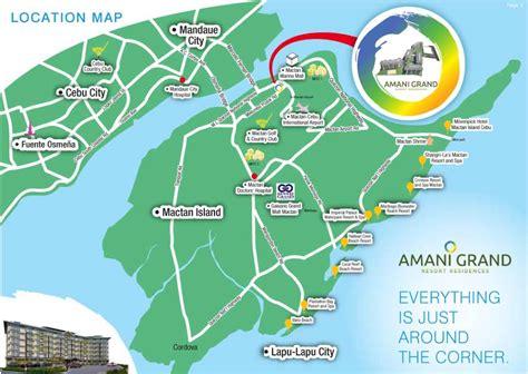 karancho resort cebu map amani grand resort residences barangay pusok lapu lapu