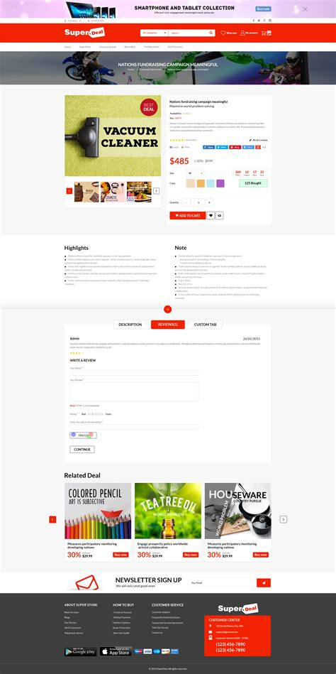 blog theme opencart super deal premium responsive opencart theme daily