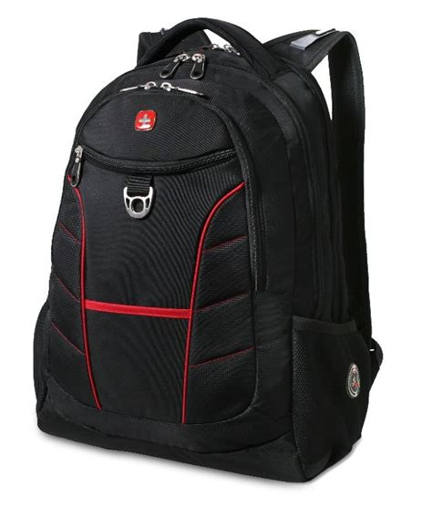 swissgear 1775 black laptop backpack with accents