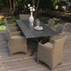 Outside Patio Dining Sets All Weather Wicker Patio Dining Set Contemporary Outdoor Dining Sets By