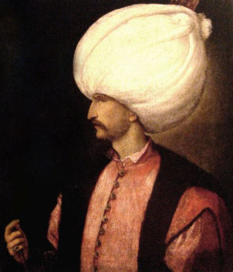 Ottoman Empire Suleiman The Magnificent Sultan Suleiman Biografia