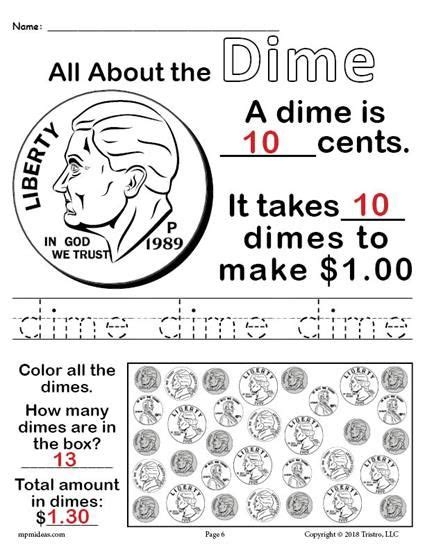 all about coins 4 free printable money worksheets the s