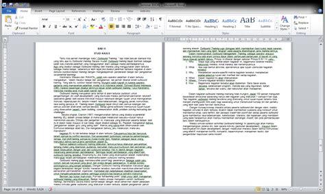 format makalah bab 2 catatan pendaki contoh format penulisan makalah
