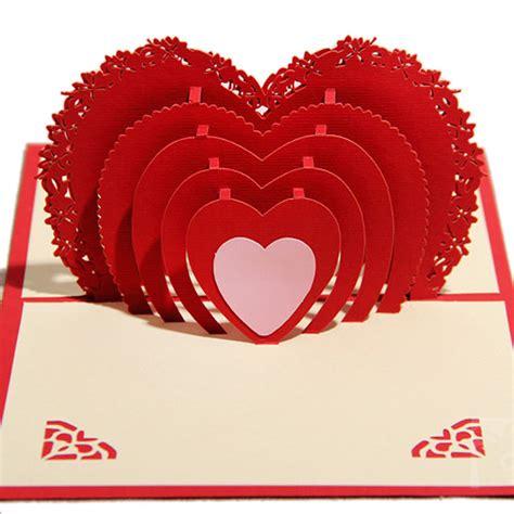 Handmade Birthday Cards For Lover - 3d stereo handmade greeting card birthday card