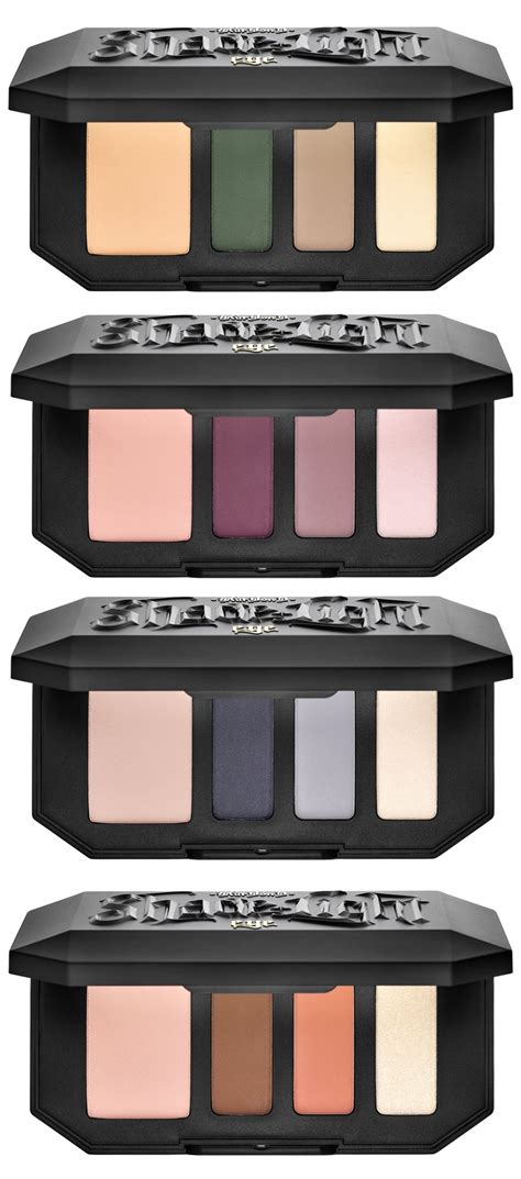 kat von d shade light contour palette shopandbox buy kat von d shade light eye contour quad