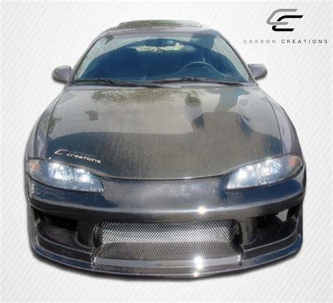 mitsubishi eclipse carbon fiber 95 99 mitsubishi eclipse oem carbon fiber creations