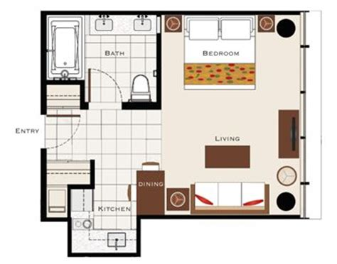 studio furniture layout 400 sq ft trump hotel suite layout in that would work