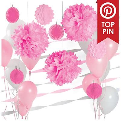 Pink And White Baby Shower Decorations by Baby Shower Decorations For Best Baby Decoration