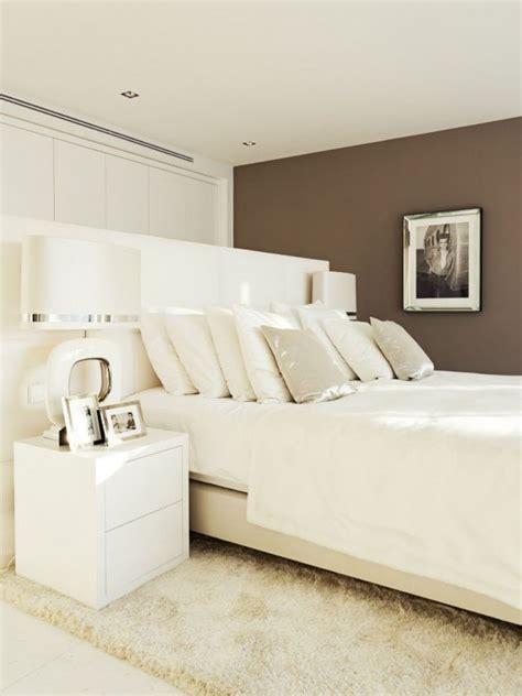 idee schlafzimmer idee schlafzimmer modern farben wei 223 ecru schoko braun