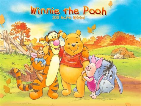 Winnie The Pooh And Friends Wallpaper
