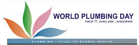 Worldwide Plumbing by Today Is World Plumbing Day 187 Flushking