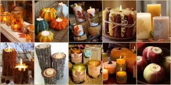 Fall wedding decorations diy diy fall wedding candle ideas