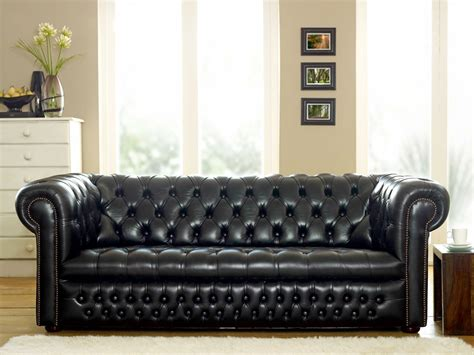 chesterfield sofa dark ludlow black leather chesterfield sofa the chesterfield