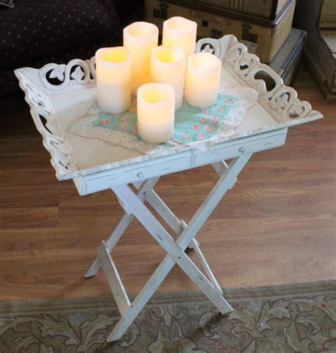 shabby chic trays something created everyday thankful thrifting