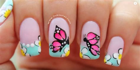 nail art design tutorial painting video nail tutorial lovely butterfly nail art design