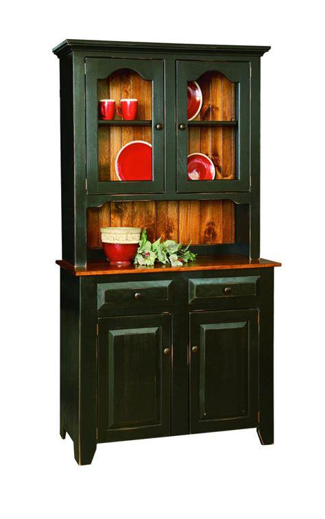 Handmade Custom Furniture - china cabinet hutch amish handmade custom finished country