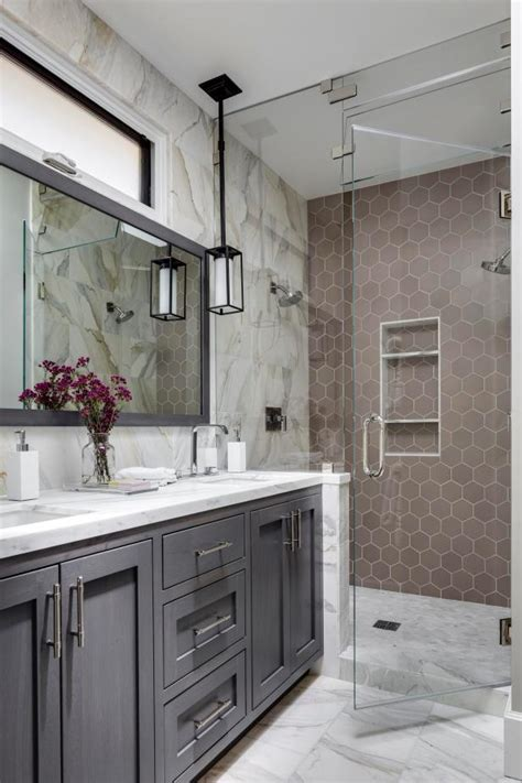 9 bold bathroom tile designs hgtv s decorating design