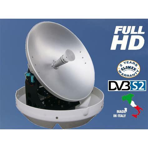rhea antenna tv satellitare cm  uscita full hd dvb