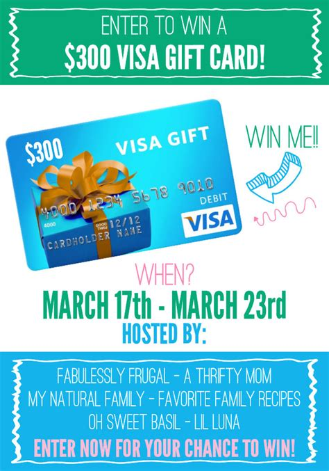 Visa Gift Card Sweepstakes - visa gift card giveaway