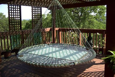 Swinging Hammock Bed digital inspiration the tech guide hanging beds