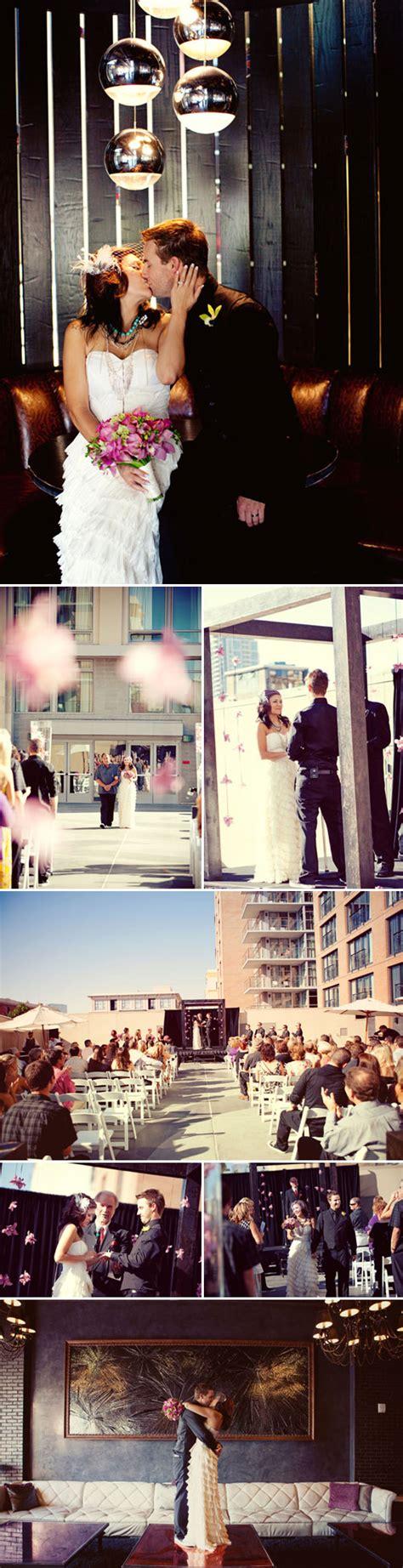 Set Rosha Setelan Blouse Rok Linen Motif Flower rock styled pink and black wedding at san diego s rock hotel ricci and